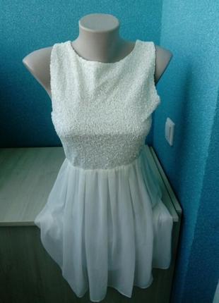 Стильное нарядное женское платье