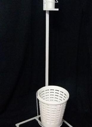 Мобильная стойка для локтевого дозатора и антисептика