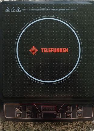 Индукционная плита 2000watt, Telefunken