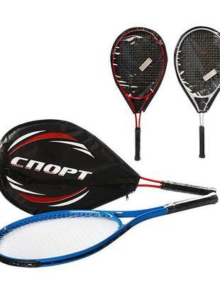 Ракетка для большого тенниса в чехле, 1шт, 27 дюйма, теннисная...