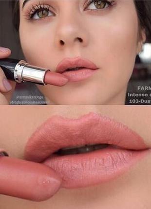Акция! губная помада intense color 103 пепел розы farmasi турция!