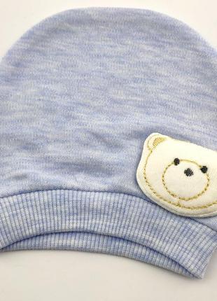 Шапка для новорожденных с 44 по 48 размер