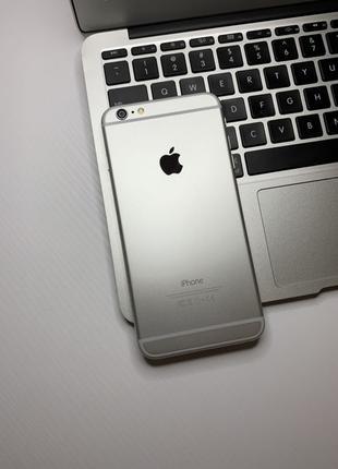 IPhone 6 Plus 16gb Neverlock Silver #418