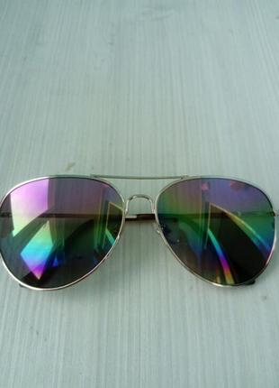 Стильные женские очки авиатор ray ban