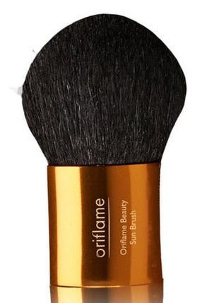 Кисть для пудры и румян oriflame beauty sun brush