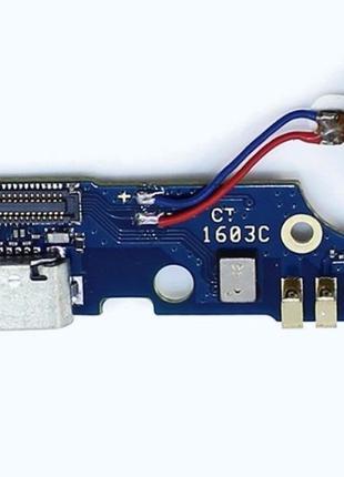 Шлейф для Meizu M2 Note (M571), с разъемом зарядки, TD-SCDMA/WCDM