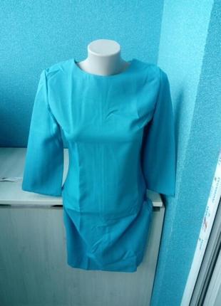 Стильное яркое женское платье футляр
