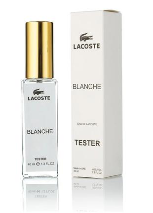 Мини-парфюм тестер Lacoste Blanche для мужчин 40 мл