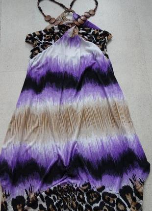 Женский яркий сарафан платье туника