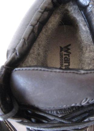 Суперские в стиле Wrangler! Мужские зимние ботинки черные натурал