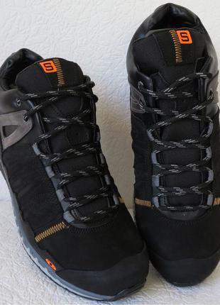 Зимние мужские кроссовки в стиле S alomon полуботинки