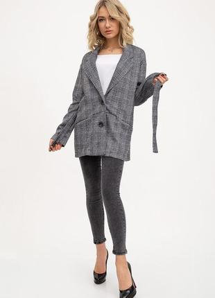 Последние размера!!! пиджак женский, жакет, черно-белый пиджак...