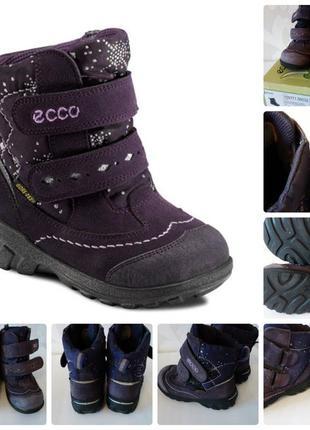 Термо ботинки ecco gore-tex