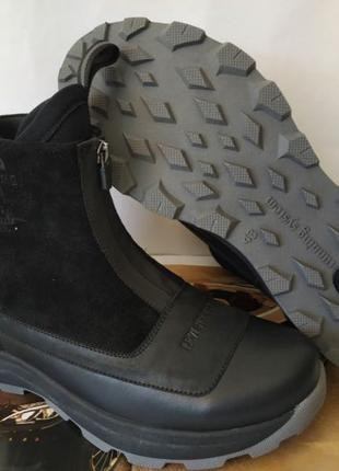 Зимние мужские сапоги Levis neo! Ботинки угги на змейке термо lev