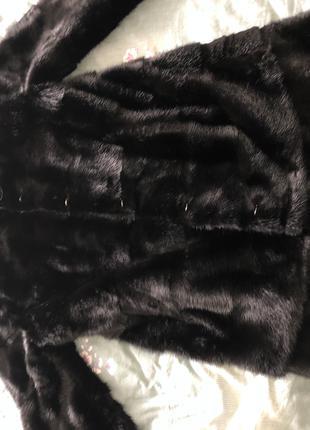 Норковая шуба трансформер