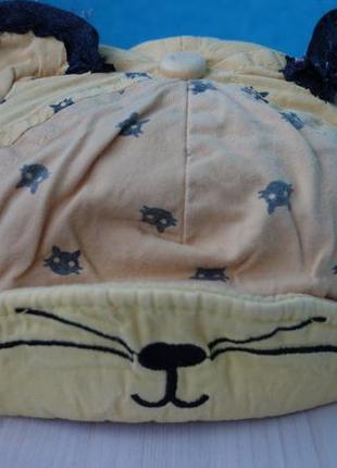 Хлопковая кепка панамка