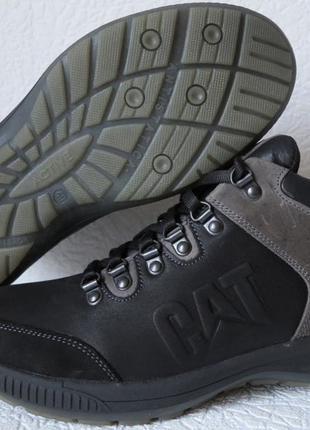 Зимние 2019-20! Кожаные мужские ботинки Caterpillar! Кроссовки че