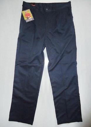 Штаны брюки dunlop golf navy т.синие (34)