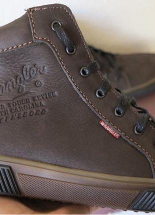 Wrangler Мужские зимние кеды ботинки натуральная кожа в спортивно