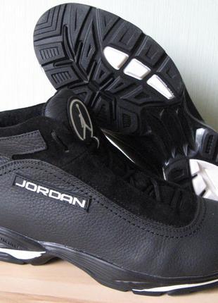 Супер Jordan мужские зимние удобные теплые кроссовки, ботинки в с