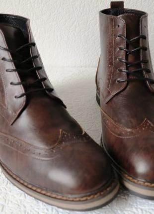 TODS реплика! мужские броги оксфорд на шнуровке натуральная кожа