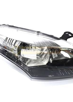 Фара правая Renault Megane 3 (хром-черная) Оригинал 260105680R