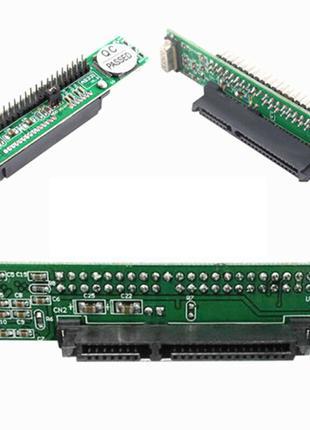 Адаптер IDE 44 pin - SATA 2.5 для старых ноутбуков под диски sata