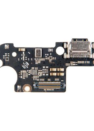 Шлейф для Xiaomi Mi8 Lite/Mi8X, с разъемом зарядки, с микрофоном,