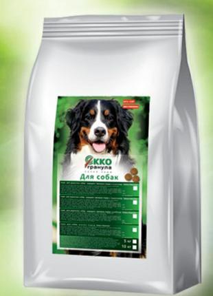 Сухий корм для собак и щенков «Екко-гранула» от 330 грн.