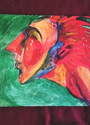 """Картина холст акрил """"Ветер"""" интерьер авторская работа"""