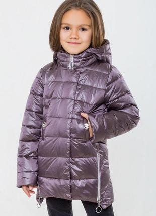 Новинка 2019! деми сезонная куртка-хамелеон донна - 140-164 рр
