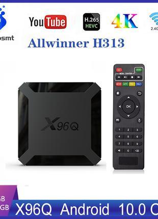 Новинка TV Box X96Q Android 10.0 на процессоре Allwinner H313