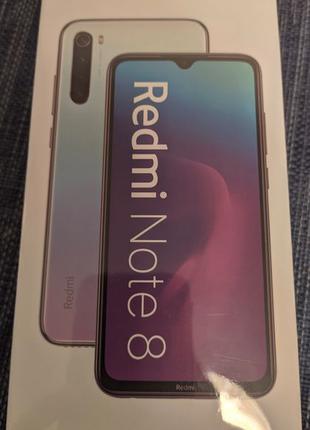 Xiaomi Redmi Note 8 4/64GB Global Version Neptune Blue
