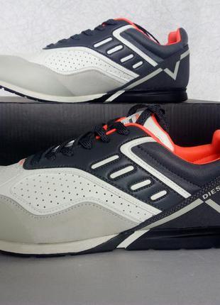 Мужские кроссовки diesel s-gloryy sneakers оригинал р 43,5