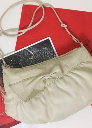 Кожаная сумочка кожа сумка на ремешке