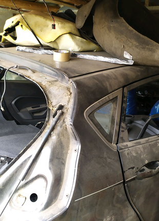 Четверть кузов форд фиеста мк 7 разборка розборка ford fiesta usa