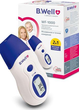 Термометр бесконтактный инфракрасный медицинский B.Well WF-1000