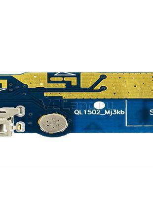 Шлейф для Asus ZenFone Max (ZC550KL), с разъемом зарядки, с микро
