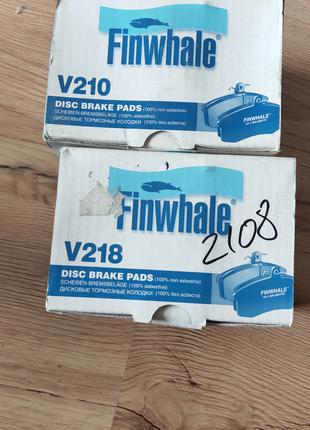 Тормозные колодки для ВАЗ Finwhale