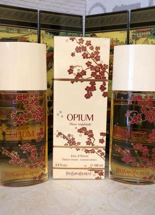 Духи винтажные yves saint laurent opium fleur imperiale, edt, ...