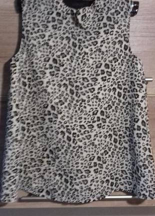 Легкая блузка для девочки на подкладке