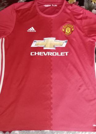 Футболка adidas fc manchester united