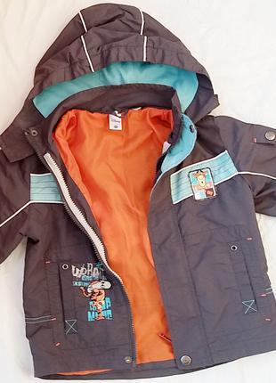 Куртка ветровка мальчик дисней, disney 98-107 рост