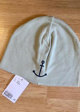 Двухслойная шапочка, шапка для мальчика h&m, размер 2-4 г, 98-104