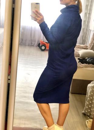 Платье электрик 42-44