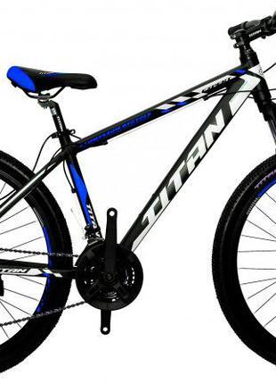 """Горный алюминиевый велосипед 26"""" TITAN EXPERT DD рама 16"""