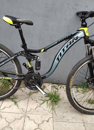 Цена ВАУ!Горный велосипед 26 TITAN PIONEER DD рама 14