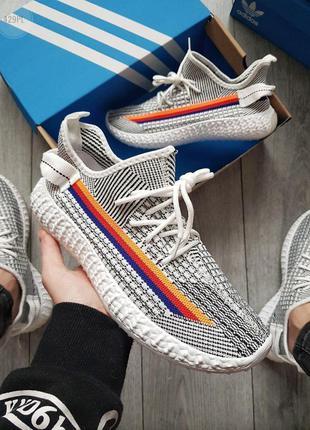 Кроссовки adidas yeezy white/black 🌶