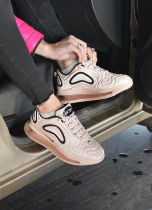 :женские кроссовки nike air max 720 pink розовый цвет (36-41)