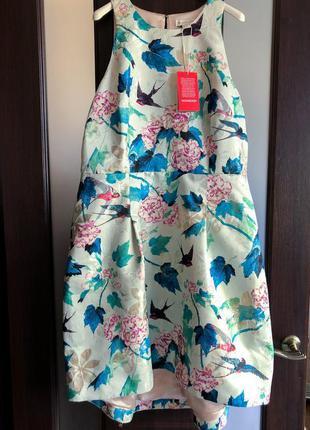 Новое с биркой крутое платье с удлиненной юбкой monsoon